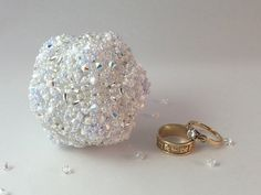 A Nice Day for a White Wedding Orb by RoyalJDesigns on Etsy