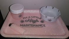 Rolling tray and asessories Stoner Room, Stoner Gifts, Pipes And Bongs, Manicure Y Pedicure, Mary J, Everything Pink, Smoking Weed, Stoner Humor, Medical Marijuana