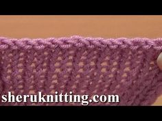 Sewn Bind Off Cast Off in Knitting Tutorial 7 Method 10 of 12 Finishing Off Knitted Piece - YouTube