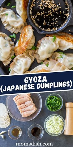 Gyoza are juicy on the inside and crispy on the outside. Skip ordering takeout and make these Japanese, pan-fried dumplings in the comfort of your own home.