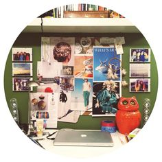 Do you create mood boards? I use the cork board in my room to pin things that I'm inspired by. #moodboards