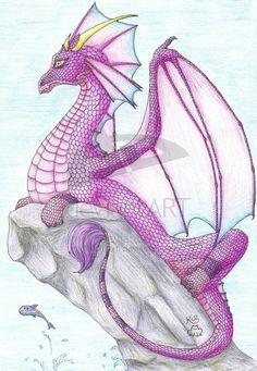 Dragonna by Scellanis.deviantart.com on @deviantART
