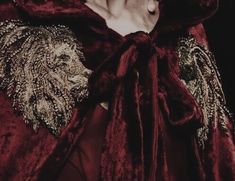 Red cloak — red aesthetic — medieval aesthetic — red and gold aesthetic — medieval aesthetic — fantasy aesthetic