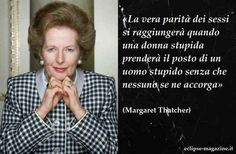 """Frasi Celebri: Aaforisma di Margaret Thatcher Per la rubrica giornaliera di Eclipse Magazine, dedicata alle frasi celebri e intitolata """"Aforisma del giorno"""", vi proponiamo la citazione di Margaret Thatcher, nata a Grantham il 13 ottobre 1925 e m #frasicelebri #aforisma #citazioni"""