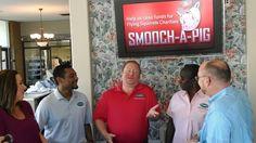 Smooch-A-Pig fund raiser video