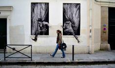 """Artist : Levalet - """"Changes"""" - Paris V"""