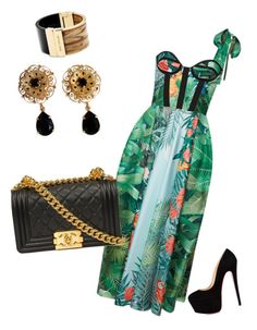 """rochas challenge"" by fotini3181 on Polyvore featuring Rochas, Dolce&Gabbana and Michael Kors"
