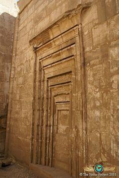 Karnak Temple, where Amenirdis became God's wife of Amun