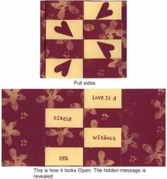 1000 Images About Hidden Message Card On Pinterest