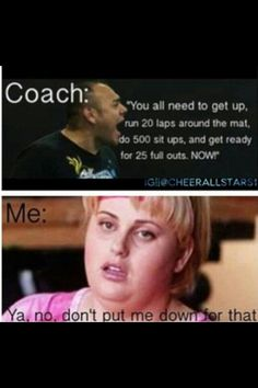 Coach Eddie  Fat Amy  <3