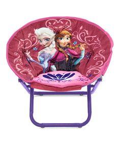 Look at this #zulilyfind! Frozen Mini Saucer Chair by Frozen #zulilyfinds