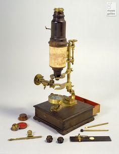 Microscopio de Georg Friedrich Brander (1765). Lorraine collections. Museo Galileo