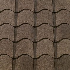 Monticello Brown #gaf #designer #roof #shingles #swatch