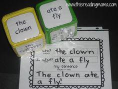 Simple sentence maker