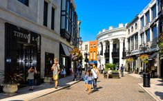 Die Luxus Shoppingmeile Rodeo Drive in Los Angeles