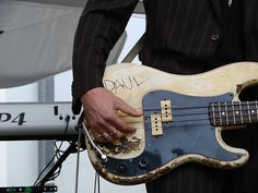 Paul Simonon's bass
