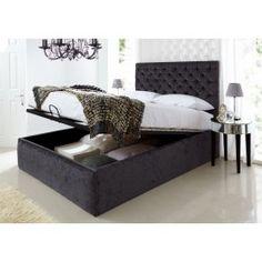 Mayfair Upholstered Ottoman Storage BedOraganization