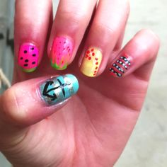 each nail is different!