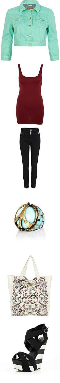 outfit by --> www.riverisland.com