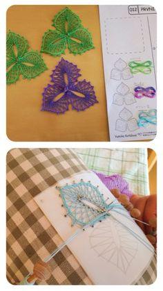 初めてのデチカは、編み台を回しながら編むこともさることながら、テーマを決めて配色を工夫するのも楽しみのひとつ。これはHALEさんの3テーマ。「やさしい空」にグッときております。完成がたのしみ!