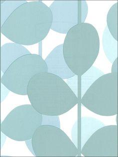 wallpaperstogo.com WTG-022856 Blue Mountain Contemporary Wallpaper