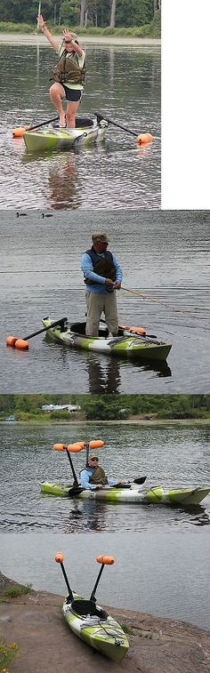 Accessories 87089: Kayak Or Canoe Outriggers / Stabilizers For Sight Fishing, Standing And Beginners BUY IT NOW ONLY: $148.95 #kayakfishing #FishingForFun