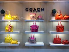 Coach Factory Outlet Spring 2013 Window Display at The Outlets at Sands Bethlehem.
