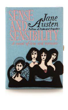 Sense And Sensibility Book Clutch by OLYMPIA LE-TAN for Preorder on Moda Operandi