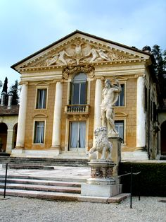 Villa Barbaro, Architect Andrea Palladio