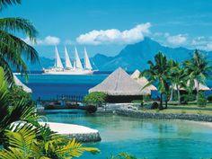Tahiti, Taha and Bora Bora