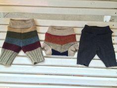 NB wool striped longies www.jamnee@etsy.com