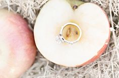 I left no ring with her... an apple cleft in two is not more twain than these!