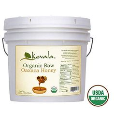 Kevala Organic Raw Oaxaca Honey 8 Lbs Pail ** For more information, visit image link-affiliate link.