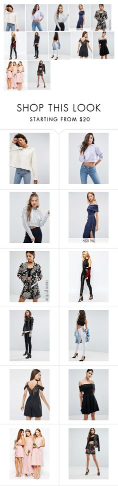 """""""Maya Granger- Modelling For ASOS"""" by the-fault-in-our-paper-towns ❤ liked on Polyvore featuring ASOS, Tiger Mist, Pull&Bear and Missguided"""