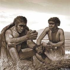 El homo erectus ya se organizaba en pequeños clanes diriguidos por un patriarca (lider)