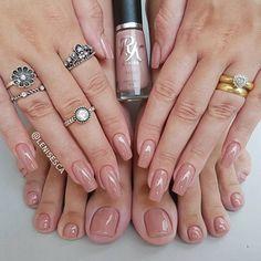 Elegant Nails, Classy Nails, Trendy Nail Art, Cool Nail Art, Toe Nail Color, Nail Colors, Garra, Toe Nails, Pink Nails