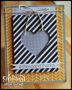 Pink Buckaroo Designs: Project Life by Stampin' Up Simple Cards- AWW Blog Hop
