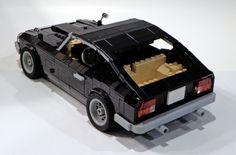 Lego Technic Sets, Lego Truck, Japanese Sports Cars, Lego Vehicles, Datsun 240z, Cool Lego Creations, Lego Moc, Legos, Classic Cars