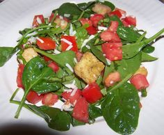 Caprese Salad - great use for fresh basil and summer tomatoes