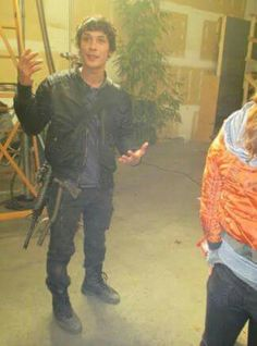 Bellamy Blake The 100 behind the scene Bob morley