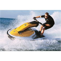 Sea-Doo 3D, you can stand up, kneel, or sit on the seat you can put on.