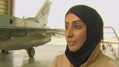 The first female fighter pilot in the United Arab Emirates leads a strike mission this week against ISIS.