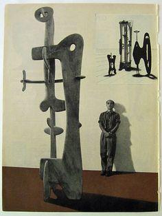 Isamu Noguchi, LIFE magazine from November 1946