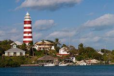 hopetown in abaco, bahamas.
