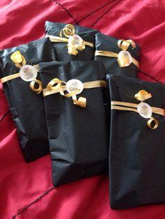 Wrapped chocolate bars for hajj eid