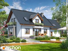 Dom w werbenach 5 Home Fashion, Mansions, House Styles, Home Decor, Houses, Life, Homes, Mansion Houses, Homemade Home Decor