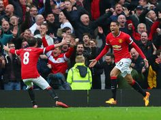 Man United vs Man city, 12th April 2015, 4-2