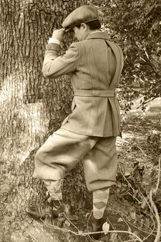 Plus Fours or Sixes and Norfolk Jacket