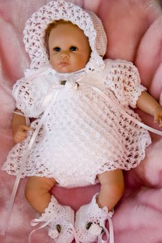 Cheryls Crochet-baby and doll patterns for purchase