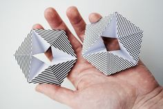 Kaleidocycle - a paper toy you can print and make!